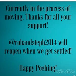 Moving! Be back when we get settled!
